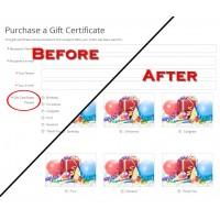 Show Voucher / Certificate Theme Images