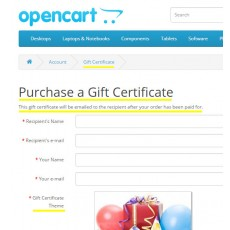 Change Gift Voucher To Gift Certificate